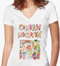 Connan Mockasin Shirt mit V-Ausschnitt