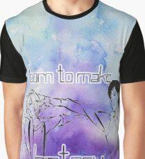 Yuri's- Born to Make History Graphic T-Shirt