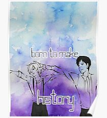 Yuri's- Born to Make History Poster