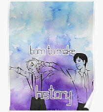 Yuri's- Born to Make History Poster