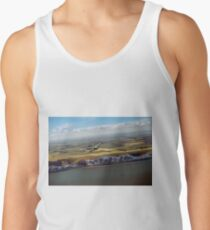 Lancaster over the white cliffs in Kent Tank Top