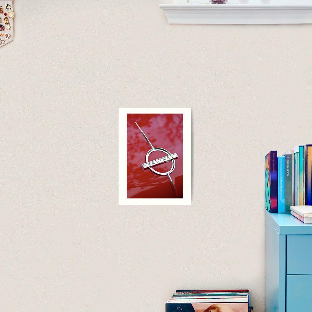 Red Valiant Art Print