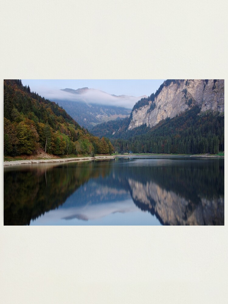 Alternate view of Autumn in Montriond Photographic Print