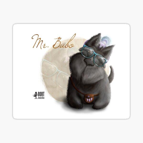 Mr. Bubo Sticker