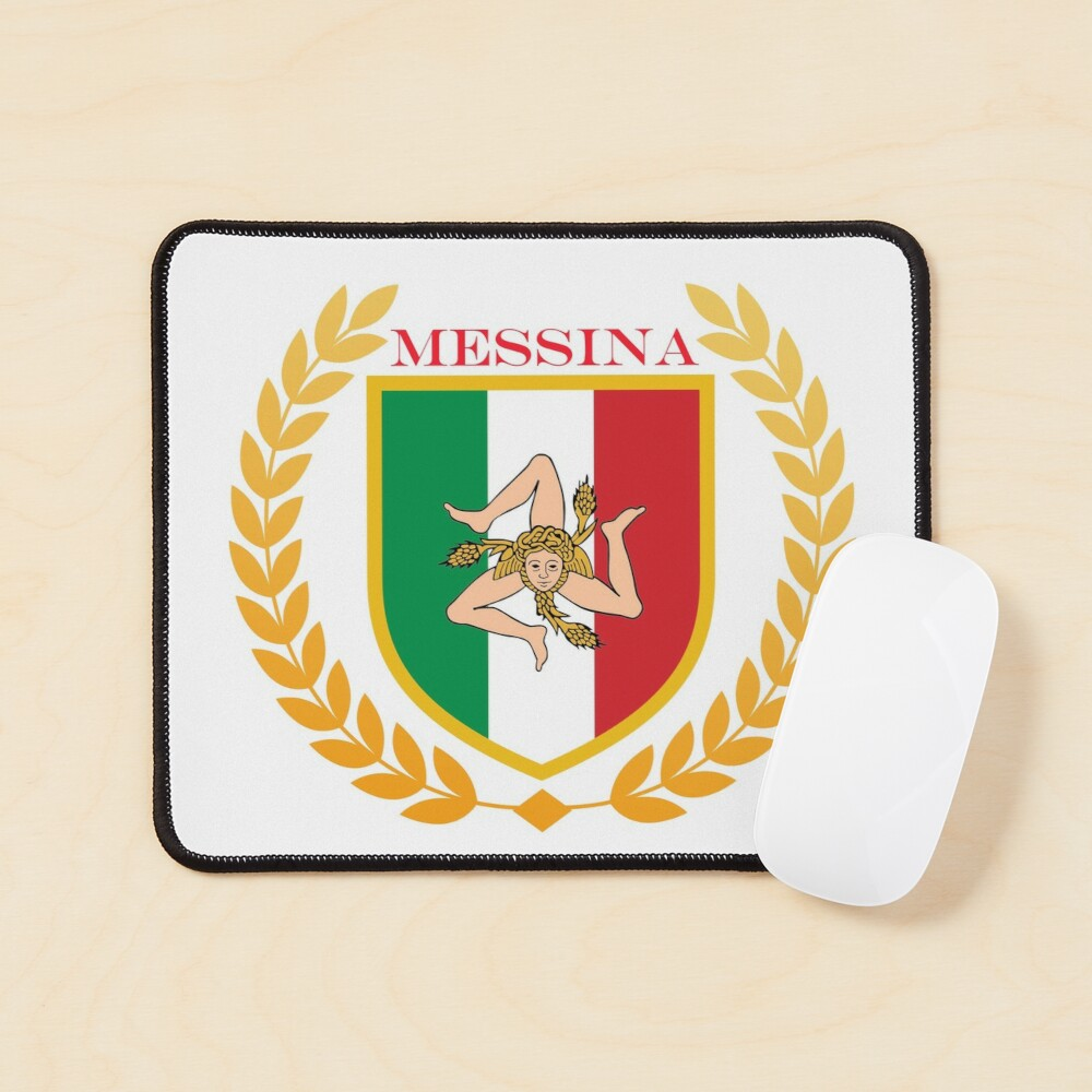 Messina Sicily Italy Mouse Pad