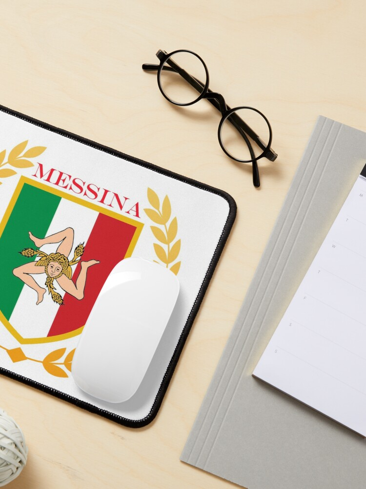 Alternate view of Messina Sicily Italy Mouse Pad