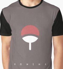 Uchiha : Logo ( Black )  Graphic T-Shirt
