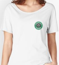 *fish Coffee 2 Women's Relaxed Fit T-Shirt