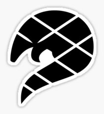 Pangolin Silhouette Sticker