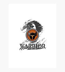 Warrior - Guild Wars 2 Photographic Print