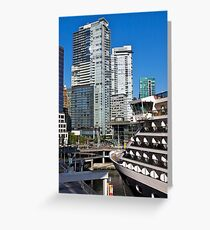 Vancouver City, Canada Place, Canada, 2012. Greeting Card