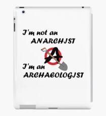 Anarchist NOT  iPad Case/Skin