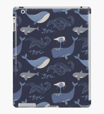 Whales of the Sea iPad-Hülle & Klebefolie