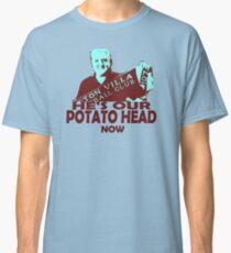 Steve Bruce Potatohead Aston Villa Classic T-Shirt