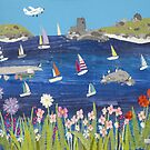 Scilly Sailing by Jackie  Gale