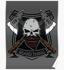 The Beard Thing Poster
