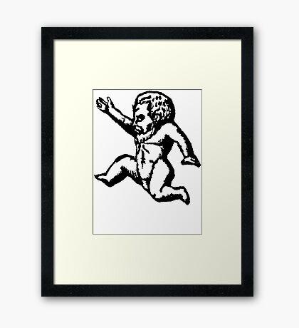 Baby Demon Framed Print