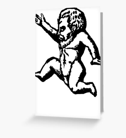 Baby Demon Greeting Card