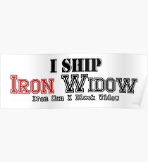 I Ship Iron Widow Poster