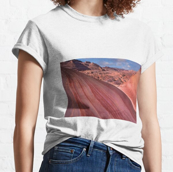 Detail Of The Wave A Navajo Sandstone Formation In Paria Canyon Vermilion Cliffs Wilderness Classic T-Shirt