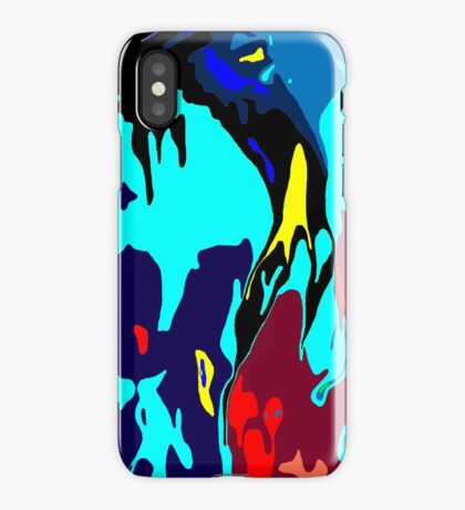 Bathymetric fantasy iPhone Case/Skin
