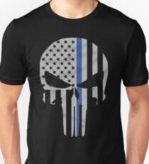 Military Skull [Tactical Flag] T-Shirt