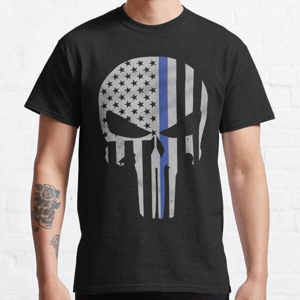 Military Skull [Tactical Flag] Classic T-Shirt