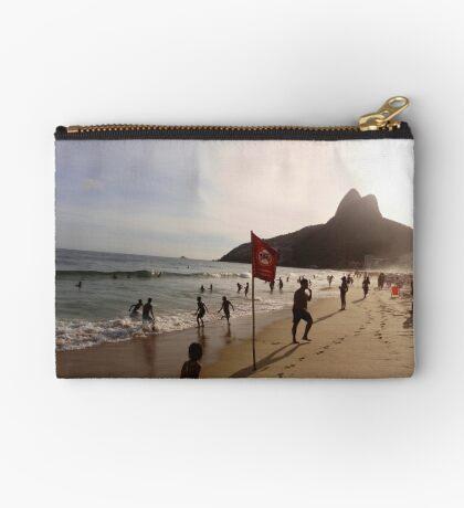 Ipanema beach, Rio de Janeiro Studio Pouch