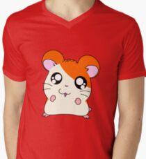 hamtaro Mens V-Neck T-Shirt