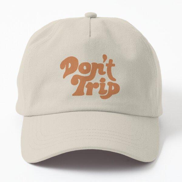 Mac Miller Don't Trip Burnt Orange Trippy Circles Swimming Dad Hat