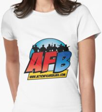 AFB Logo Women's Fitted T-Shirt