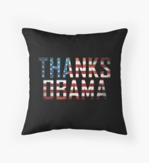 Thanks Obama Throw Pillow