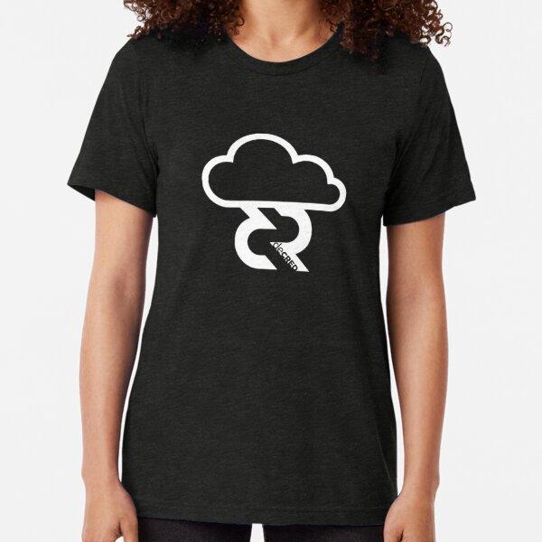 Decred Lightning Network © v1 (Design timestamped by https://timestamp.decred.org/) Tri-blend T-Shirt