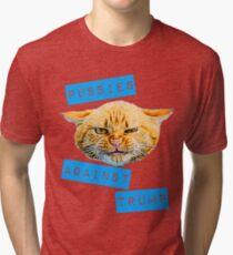 Pussies Against Trump 2.0 Tri-blend T-Shirt