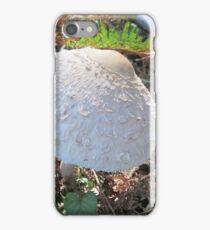 Macrolepiota rhacodes iPhone Case/Skin