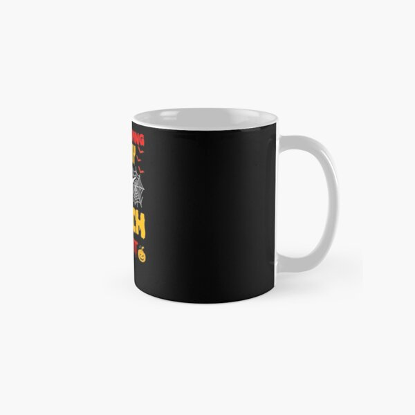 Housekeeping By Day Witch By Night Housekeeping Halloween Classic Mug