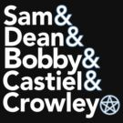 Supernatural Helvetica by BootsBoots