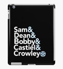Supernatural Helvetica iPad Case/Skin