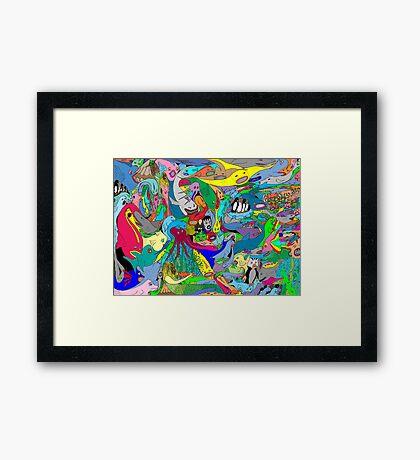 Aquatic life  Framed Print