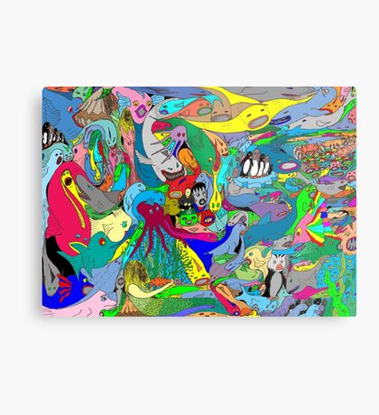 Aquatic life  Metal Print