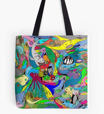 Aquatic life  Tote Bag