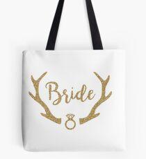 Rustic Bride Tote Bag