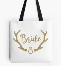 Rustic Bride Tote Bag