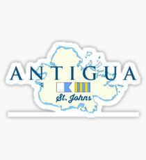 Antigua. Sticker
