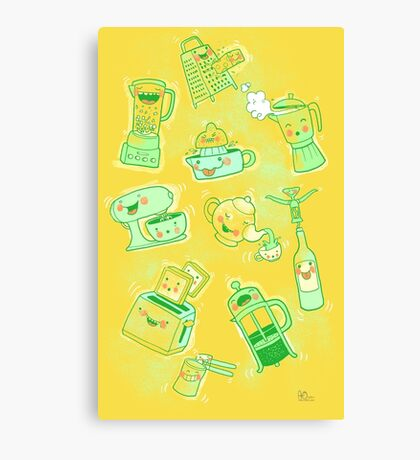 Very Dirty Kitchen Tools Canvas Print