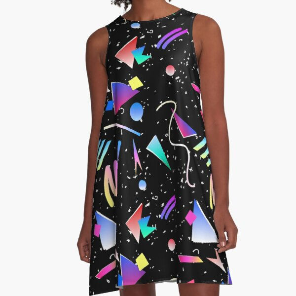 HELLO MEMPHIS (black) A-Line Dress