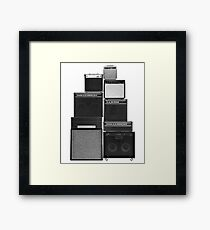 Great Wall of LOUD Framed Print