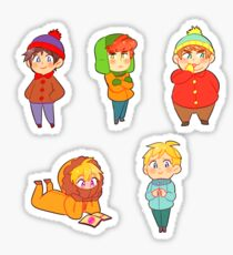 South Park Stickers- Stan's Gang Sticker