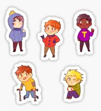 South Park Stickers- Craig's Gang Sticker