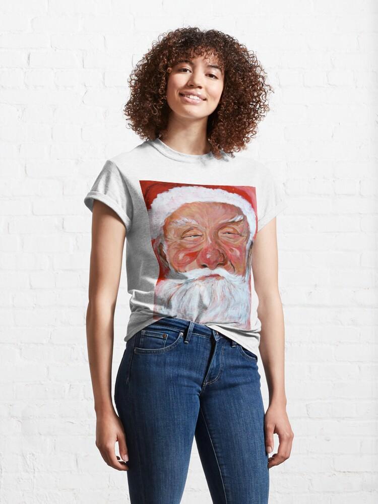 Alternate view of Santa Claus Classic T-Shirt